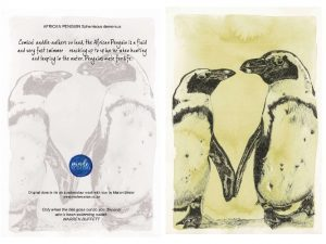 Penguins 150MM X 104MM (A6)greetings card MadeMarian Buy Online-min